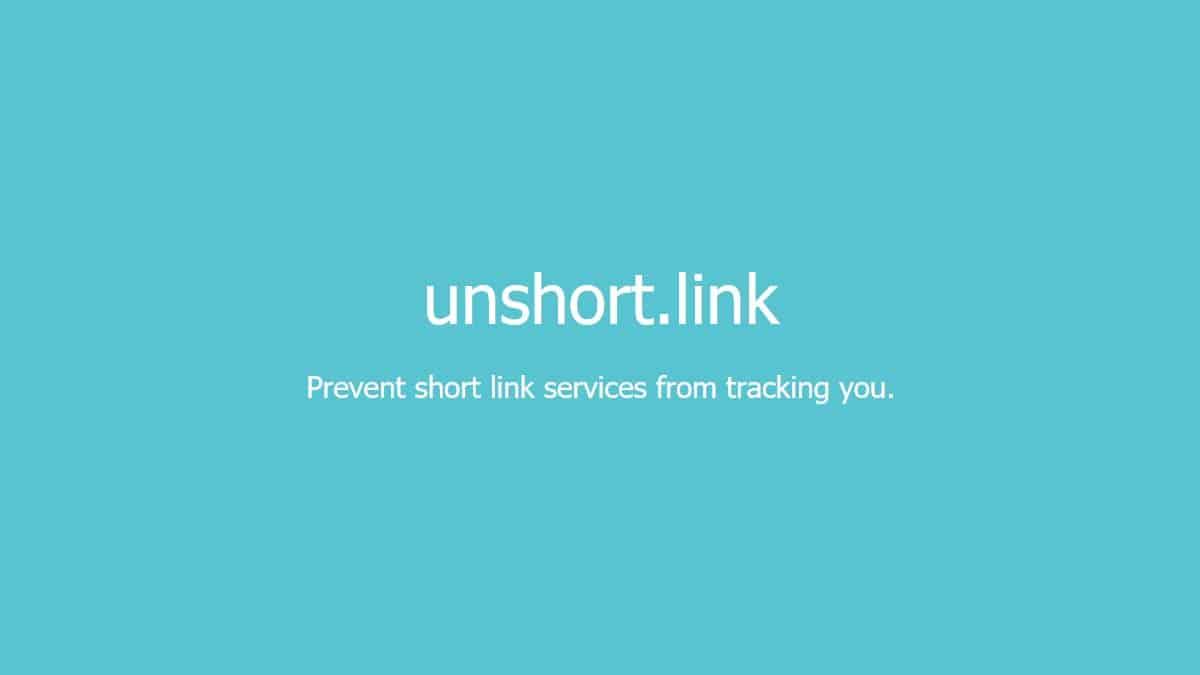 Unshort.link