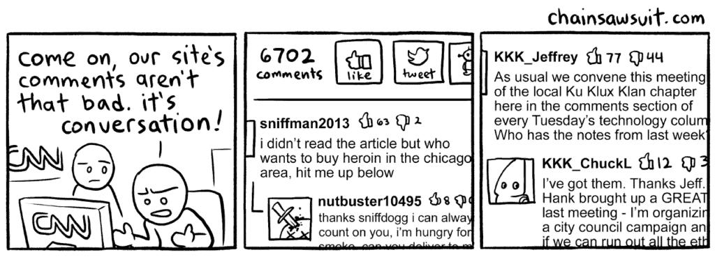 Shut Up: blocca i commenti