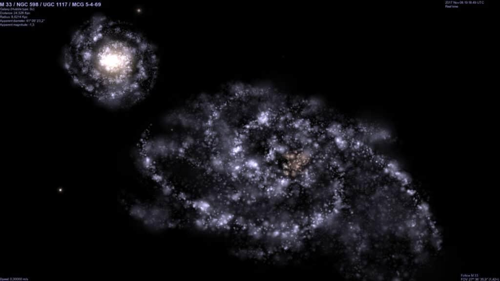 Celestia, esplora l'Universo in 3D