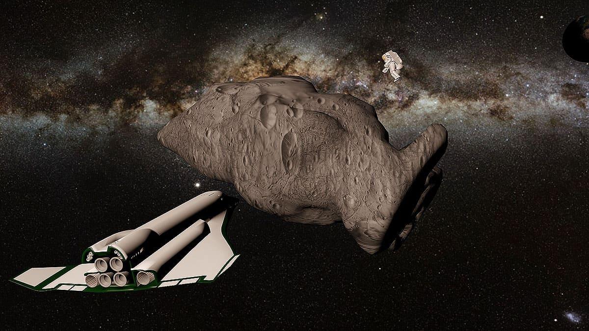 Giocare ad Asteroids
