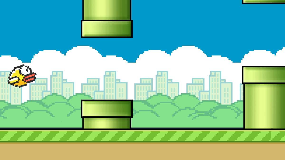 Giocare a Flappy Bird