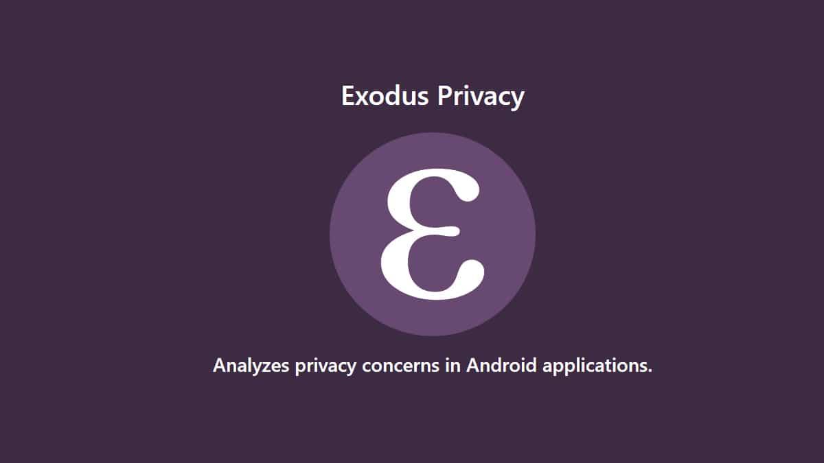 Exodus Privacy